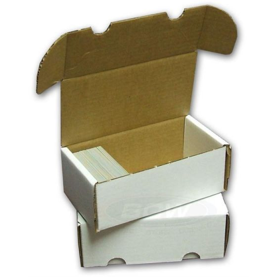 BCW 400 Count Corrugated Cardboard Storage Box for Trading Cards - Storage Boxes - Hobby Master - hobbymasterstore