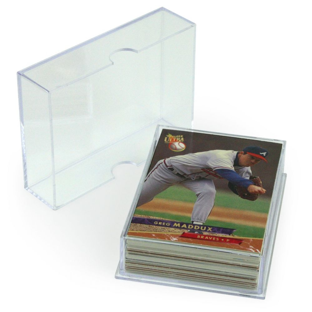 BCW 2-piece Slider Box - 50 count - Trading Card Sleeves & Screwdowns - Hobby Master - hobbymasterstore
