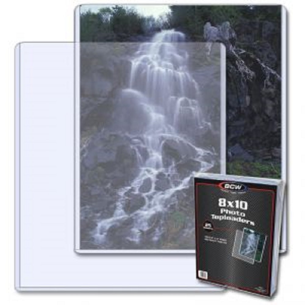 "8"" x 10"" Photo Toploaders - Documents & Photos - Hobby Master - hobbymasterstore"