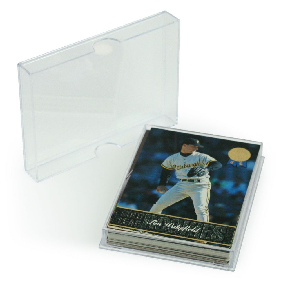 BCW 2-piece Slider Box - 25 count - Trading Card Sleeves & Screwdowns - Hobby Master - hobbymasterstore