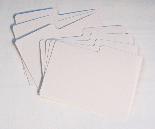 Divider Cards for Postcard Storage Box - Postcard Storage Boxes - Hobby Master - hobbymasterstore