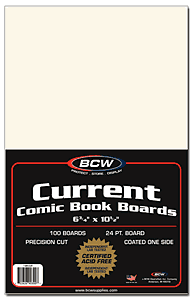 Comic Book Backing Boards, Current Age - Comic Books - Hobby Master - hobbymasterstore