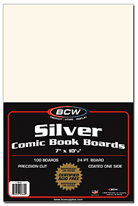Comic Book Backing Boards, Silver Age - Comic Books - Hobby Master - hobbymasterstore