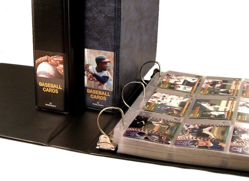 Baseball Card Album Trading Card Collecting Albums And Supplies