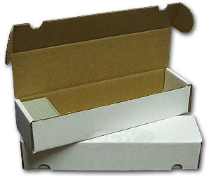 Corrugated Storage Box for 800 Cards - Sleeves & Toploaders - Hobby Master - hobbymasterstore