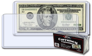 Currency Toploaders - Regular size - Coins & Currency Sleeves & Toploaders - Hobby Master - hobbymasterstore