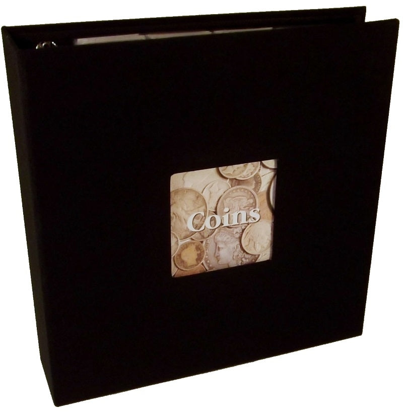Prestige Linen Coin Album - Coin & Currency Albums - Hobby Master - hobbymasterstore
