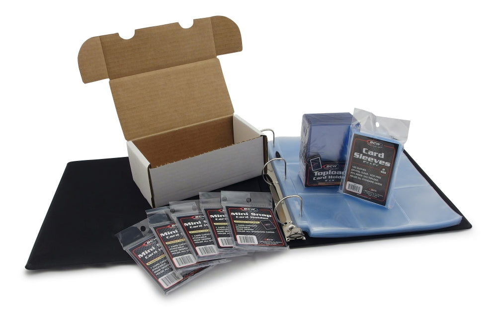 Baseball Card Collecting Starter Kit - Baseball Card Albums - Hobby Master - hobbymasterstore