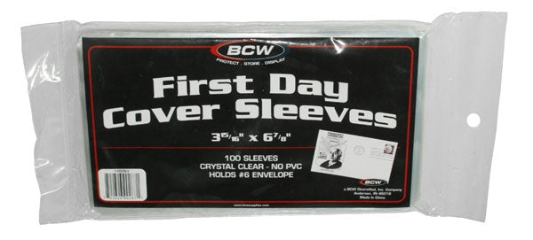 First Day Cover Sleeves - Postcard Sleeves & Frames - Hobby Master - hobbymasterstore