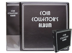 Coin Collector's Binder - Coin & Currency Albums - Hobby Master - hobbymasterstore