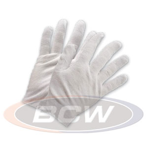 Cotton Inspection Gloves, 4 pr. - Price Guides & Accessories - Hobby Master - hobbymasterstore