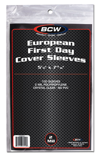 European First Day Cover Sleeves - Postcard Sleeves & Frames - Hobby Master - hobbymasterstore