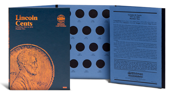 Whitman Coin Folder - Lincoln Cent #3, 1975-2013 - Coin Folders - Hobby Master - hobbymasterstore