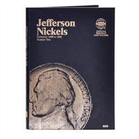 Whitman Coin Folder - Jefferson Nickel #2, 1962-1995 - Coin Folders - Hobby Master - hobbymasterstore