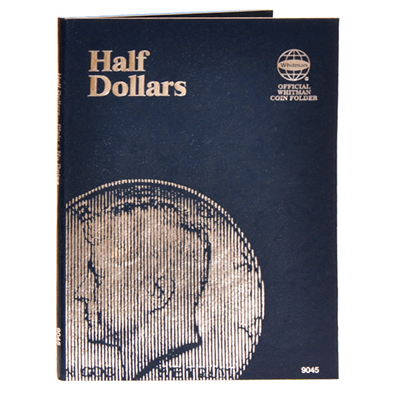 Whitman Coin Folder - Plain Half Dollar - Coin Folders - Hobby Master - hobbymasterstore