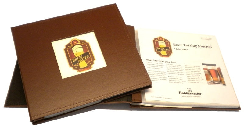 "BREW NOTES® Beer Tasting Journal 8"" x 8"" - Brew Notes Journals - Hobby Master - hobbymasterstore"