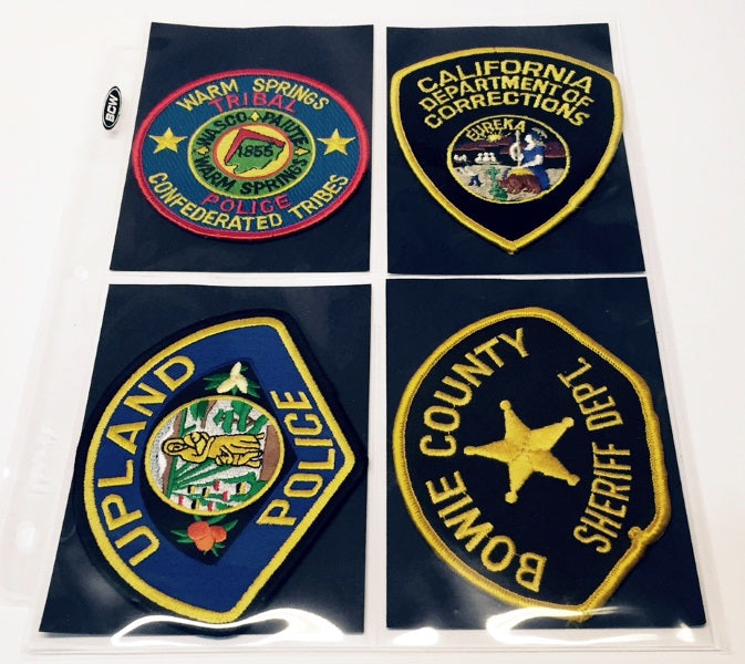 Police/Fire/EMS Patch Collector Album - Patch Albums - Hobby Master - hobbymasterstore
