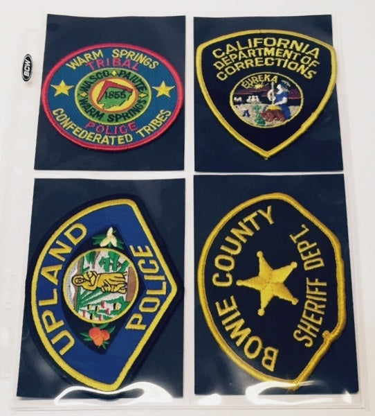 Police Patch Collector Album - Patch Albums - Hobby Master - hobbymasterstore