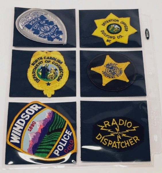 Police Patch Collector Album | Patch Collecting Albums and Supplies