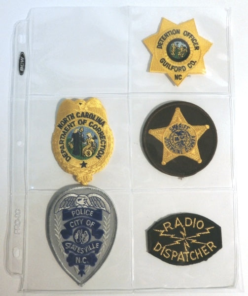 Police Patch Collector Album | Patch Collecting Albums and