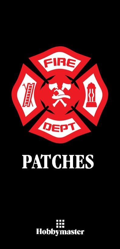 Fire Patch Collector Album - Patch Albums - Hobby Master - hobbymasterstore