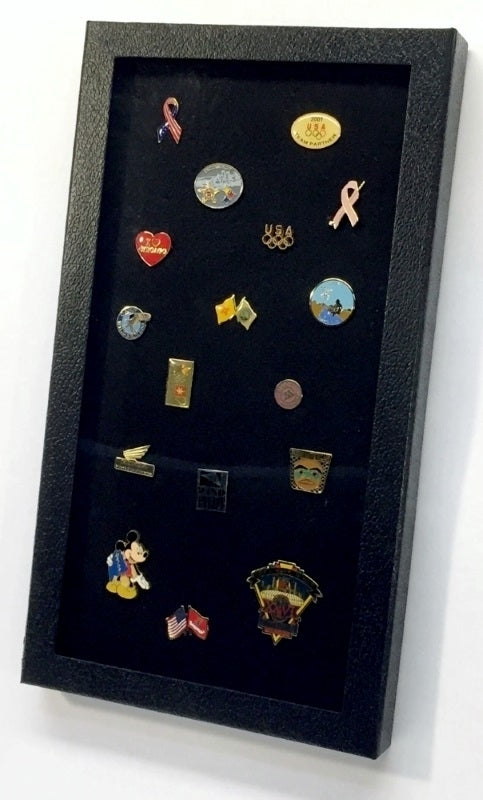 Pride pin collector's display case