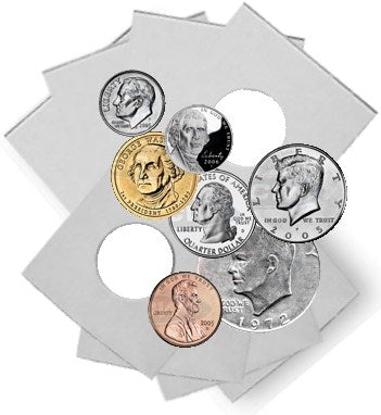 Coin Flip Mega Assortment - 1,000 Coin Holders - Coin & Currency Holders - Hobby Master - hobbymasterstore