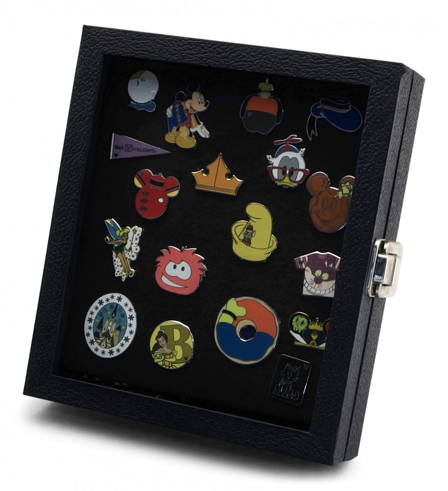 Pride pin collector's compact display case