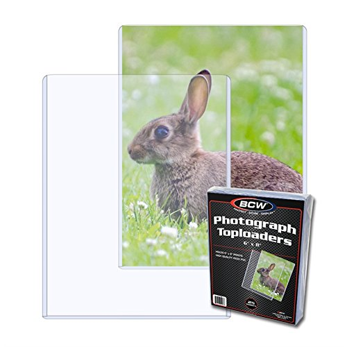 "6"" x 8"" Photograph Toploaders - Documents & Photos - Hobby Master - hobbymasterstore"