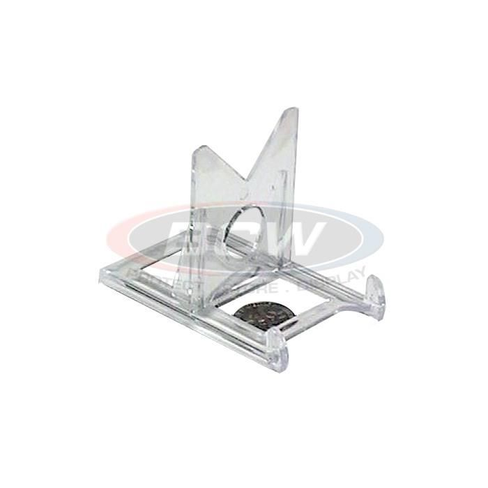 Card or toploader clear stand piece