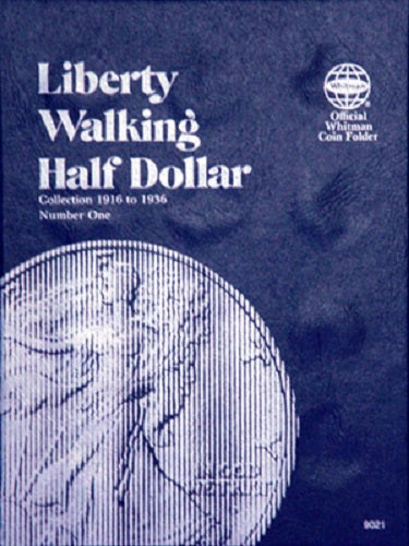 Whitman Coin Folder - Liberty Walking Half Dollars #1 1916-1936 - Coin Folders - Hobby Master - hobbymasterstore