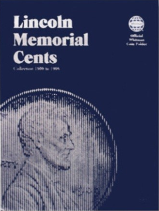 Whitman Coin Folder - Lincoln Memorial Cent #1, 1959-1998 - Coin Folders - Hobby Master - hobbymasterstore