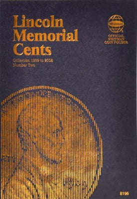Whitman Coin Folder - Lincoln Memorial Cent #2, 1999-2008 - Coin Folders - Hobby Master - hobbymasterstore