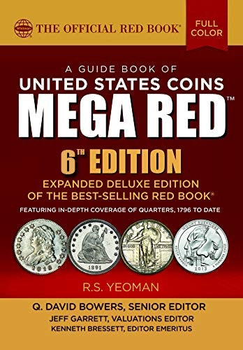 2021 Mega Red Book, A Guide Book of United States Coins