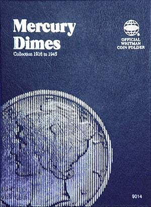 Whitman Coin Folder - Mercury Dime, 1916-1945 - Coin Folders - Hobby Master - hobbymasterstore