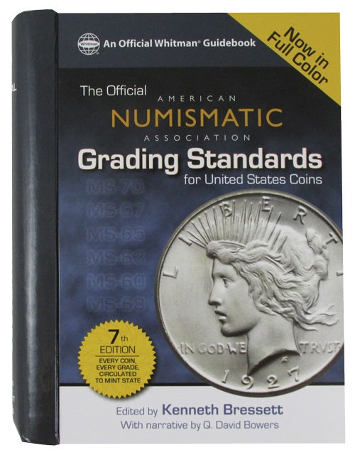 Official ANA Grading Standards for United States Coins - 7th Edition - Price Guides & Accessories - hobbymasterstore - hobbymasterstore