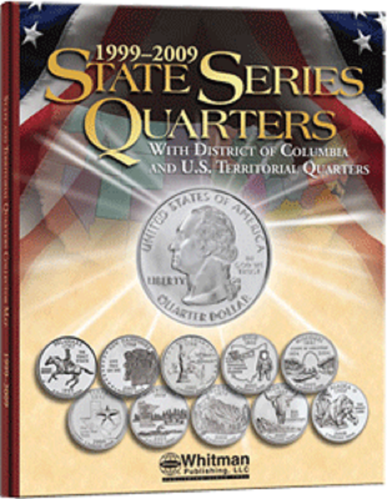 Whitman State Series Quarters Folder 1999-2009 - State Quarters - hobbymasterstore - hobbymasterstore