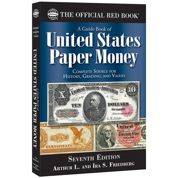 Official Red Book Guide Book of United States Paper Money - 7th Edition
