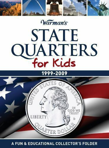 Warman's State Quarters Folder for Kids 1999-2009 - State Quarters - hobbymasterstore - hobbymasterstore