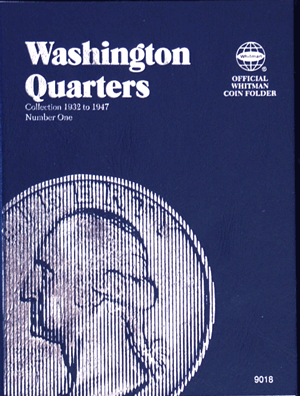 Whitman Coin Folder - Washington Quarter #1, 1932-1947 - Coin Folders - Hobby Master - hobbymasterstore
