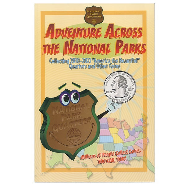 Whitman Adventure Across the National Parks - State Quarters - hobbymasterstore - hobbymasterstore