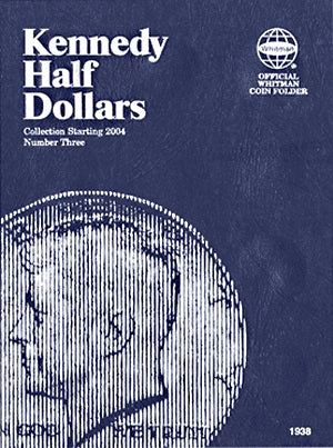 Whitman Coin Folder - Kennedy Half Dollars #3 Starting 2004 - Coin Folders - Hobby Master - hobbymasterstore