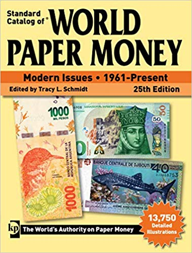 Standard Catalog of World Paper Money - Modern Issues - 1961-Present - 25th Edition - Price Guides & Accessories - hobbymasterstore - hobbymasterstore