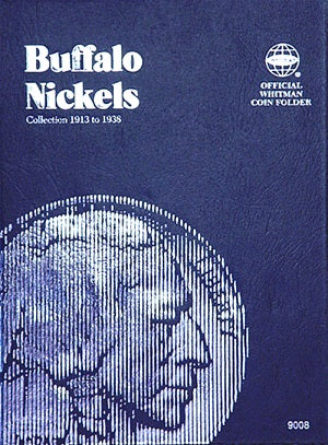 Whitman Coin Folder - Buffalo Nickels,  1913-1938 - Coin Folders - Hobby Master - hobbymasterstore