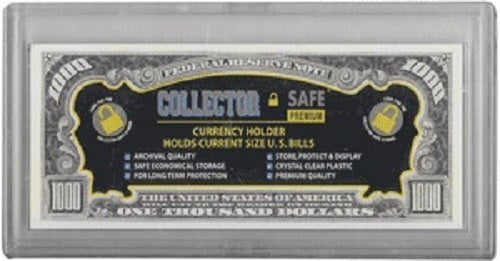 Modern Currency Holder - Snaplock Archival Quality - Coin & Currency Holders - hobbymasterstore - hobbymasterstore