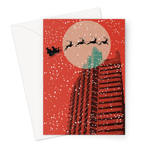 CHRISTMAS 2020. BRUTALIST RED. CARDS.
