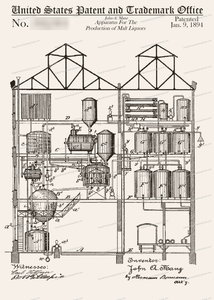 CARD-004: Apparatus for Production of Malt Liquor - Patent Press™