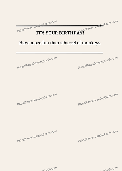 CARD-010: Barrel of Monkeys