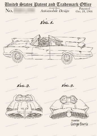 CARD-014: Batmobile - Patent Press™