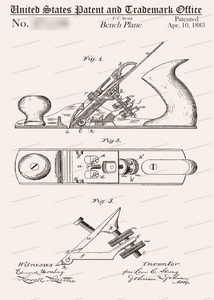CARD-020: Bench Plane - Patent Press™